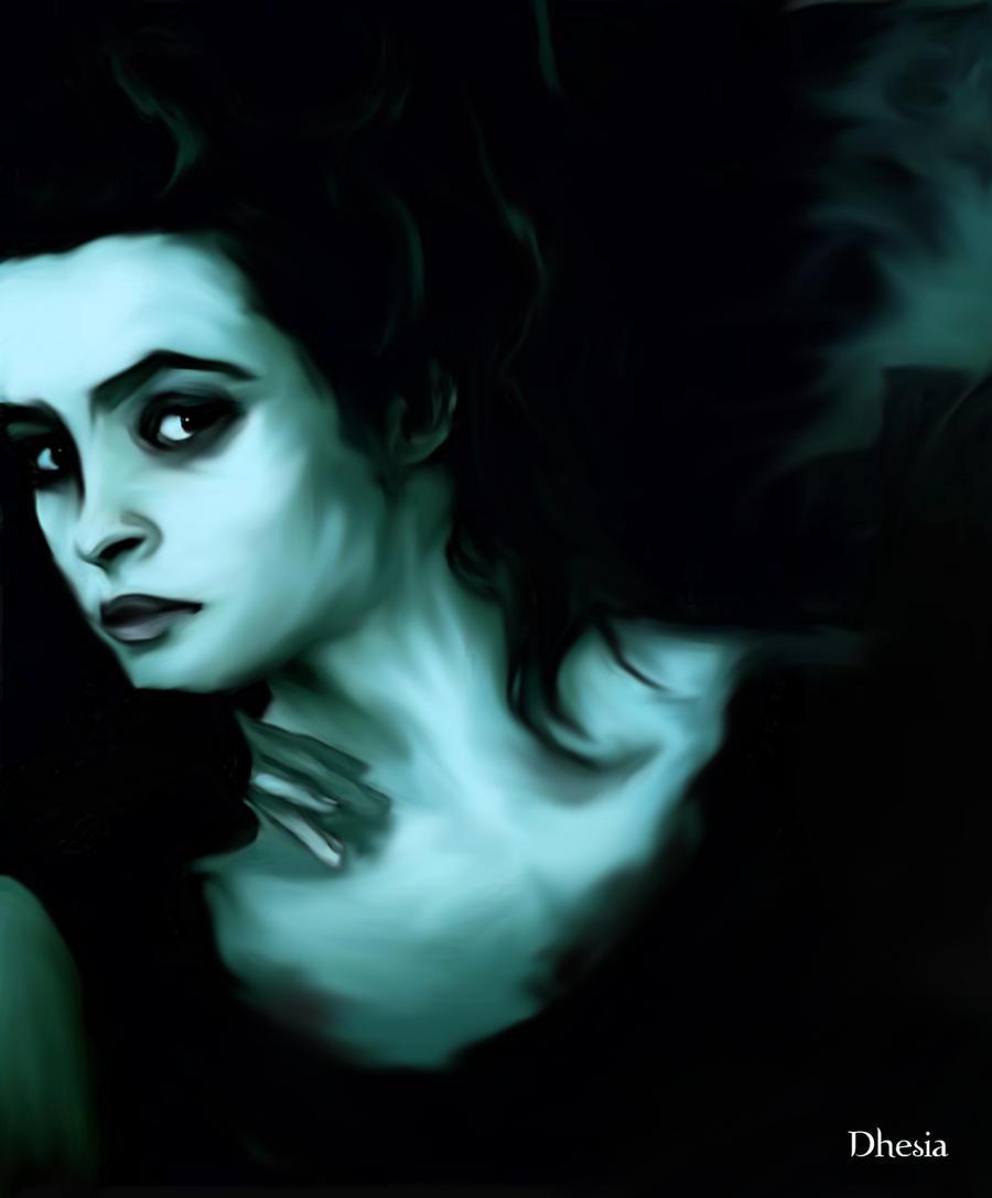 Bellatrix Lestrange-ritratto by Dhesia