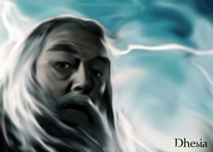 Albus Dumbledore-ritratto by Dhesia