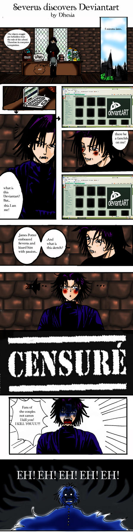 Contest41-Severus and DA by Dhesia