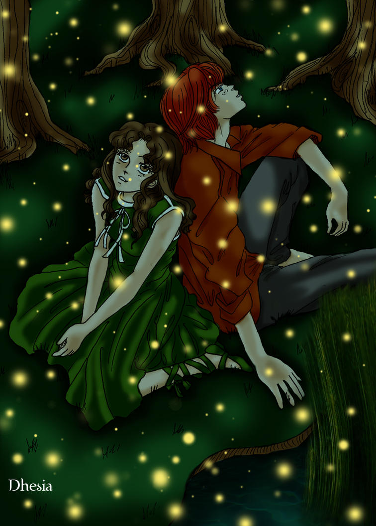 Summer contest-Ron and Hermion by Dhesia