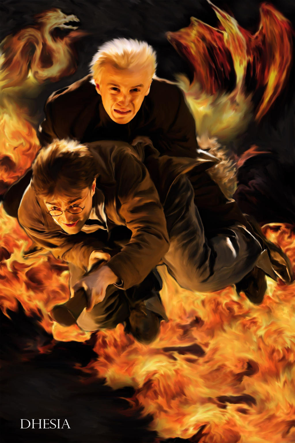 Draco Malfoy Harry Potter 4 Malfoy And Harry Potter by