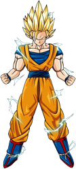 Render De Goku SSJ2 Mod  By  Gokunks On DeviantART
