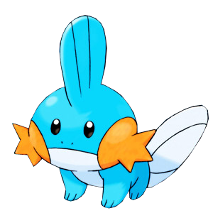 Render de Mudkip by Gokunks