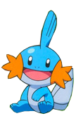 Render de Mudkip 2 by Gokunks