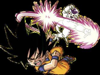 Render de Freezer VS Goku by Gokunks