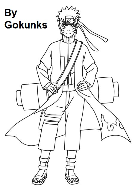 Naruto Shippuden Lineart : Lineart de naruto shippuden by gokunks on deviantart