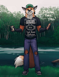 Blast fishing with Todd Cooper by Blueguynow
