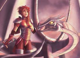 Dragonrider by solartistic