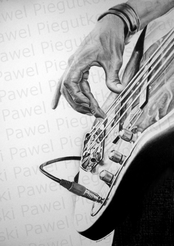 playing-bass by PEPEi