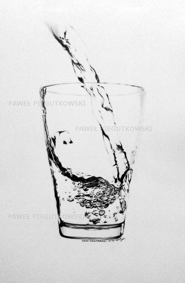 Pouring Water No 1 by PEPEi