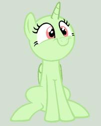 Smiley pony base
