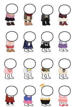 HOMESTUCK CLOTHING SPRITE SHEET