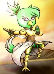 Warrior Princess Lily Chibi