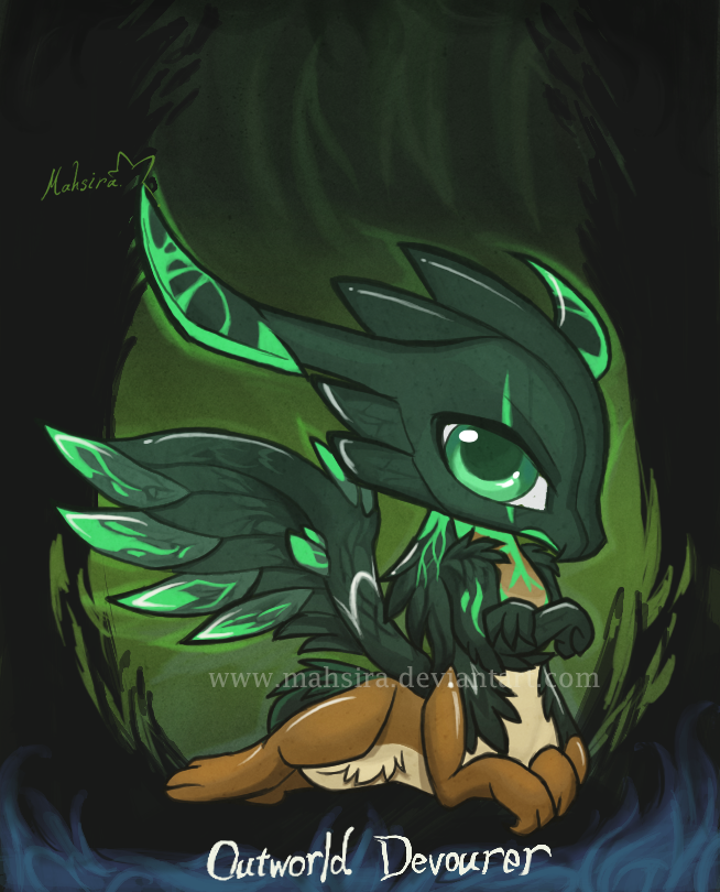 chibis outworld devourer by mahsira on deviantart