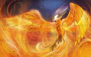The flame ocean by Mahsira