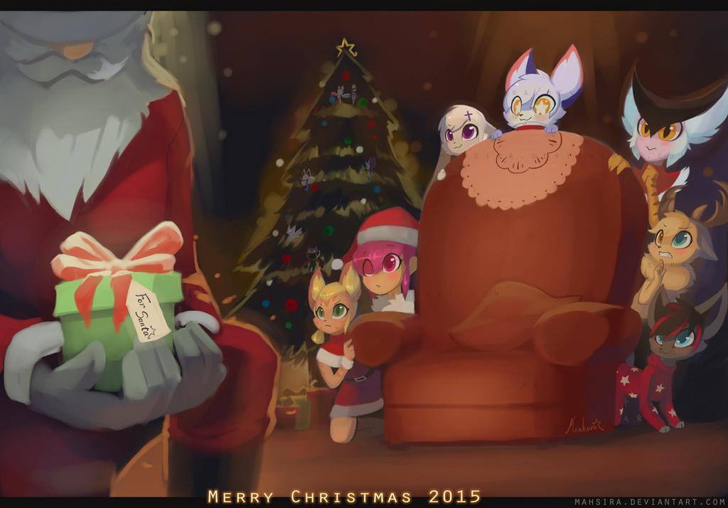 Merry Christmas 2015 by Mahsira