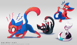 Spider Cat Verse by Mahsira