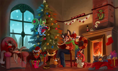 Christmas Spirit by Mahsira