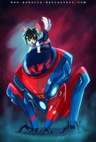Spider Cat Peni by Mahsira