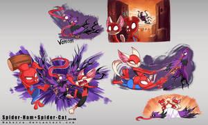 Spider Ham Spider Cat - Part2