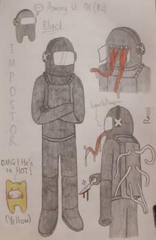 Black (Among Us OC #2, Impostor)