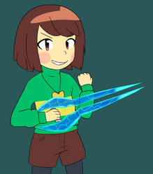 Chara energy sword by VoidLurker-Official