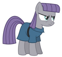 Maud hears you were picking on pinkie by Dry-B0nes