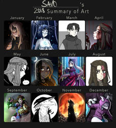 2018 Summary of Art by Savonnette