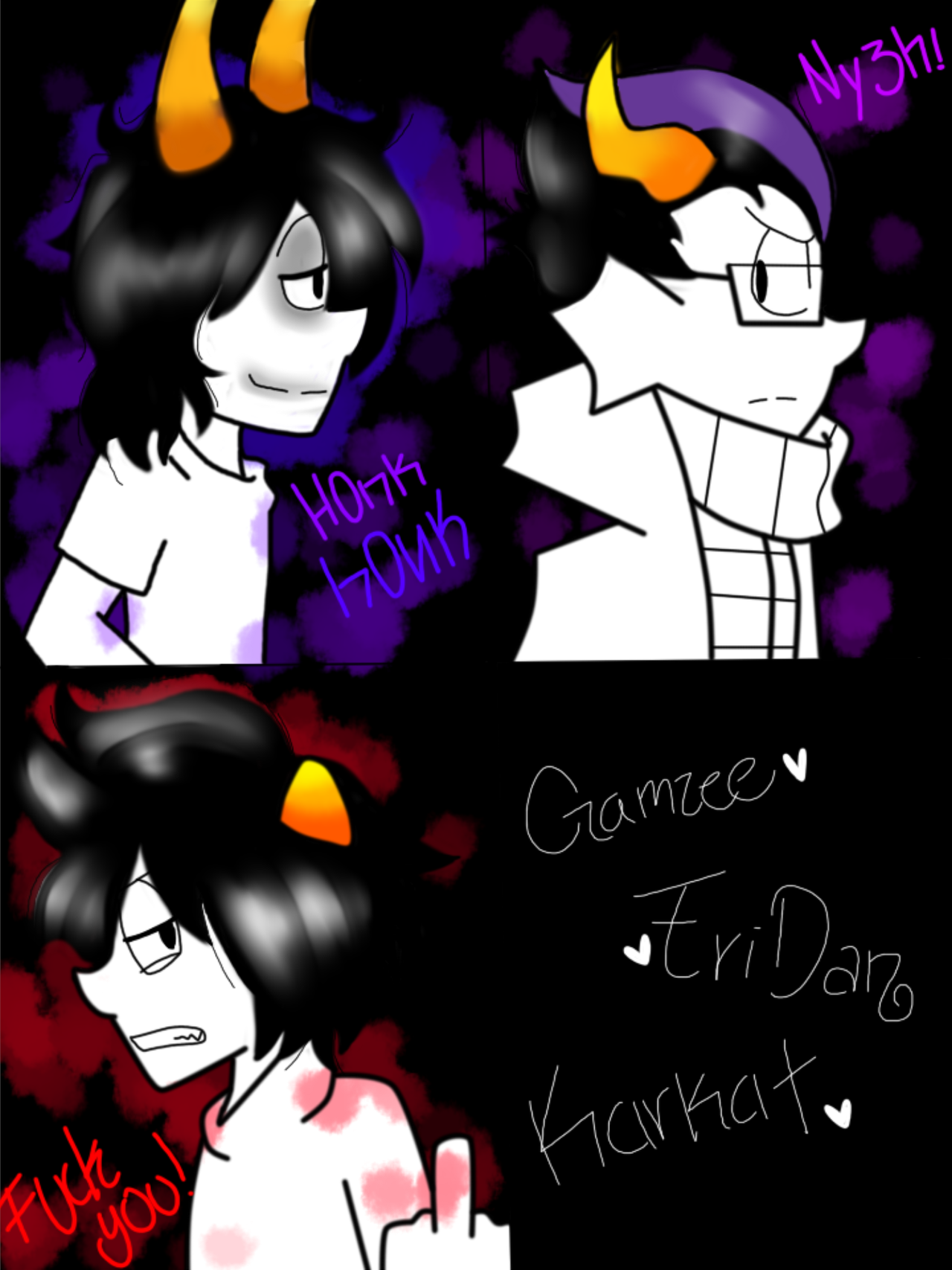 gamzee and eridan love - photo #14