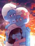 .:C.E:. Smurf Love Child