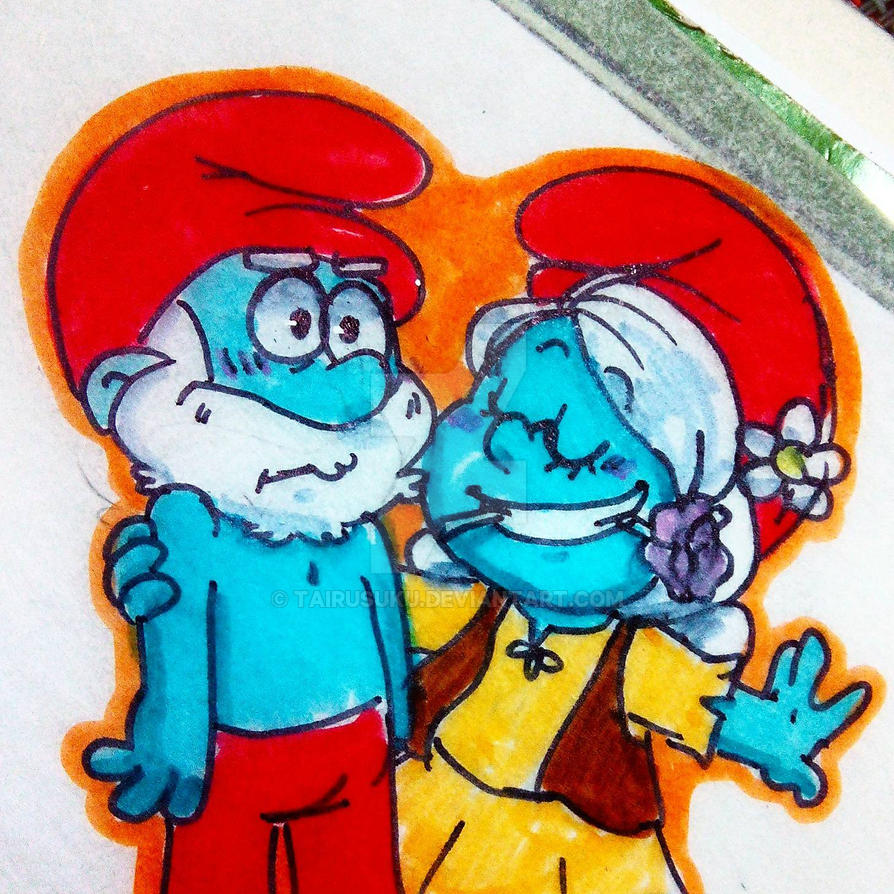 Smurfs: dance? by TairusuKU