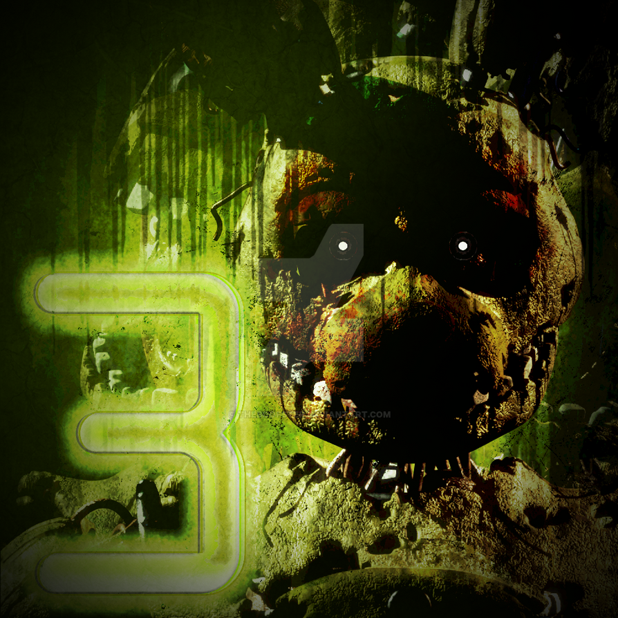 Stylized Springtrap Icon By TheBoofster On DeviantArt