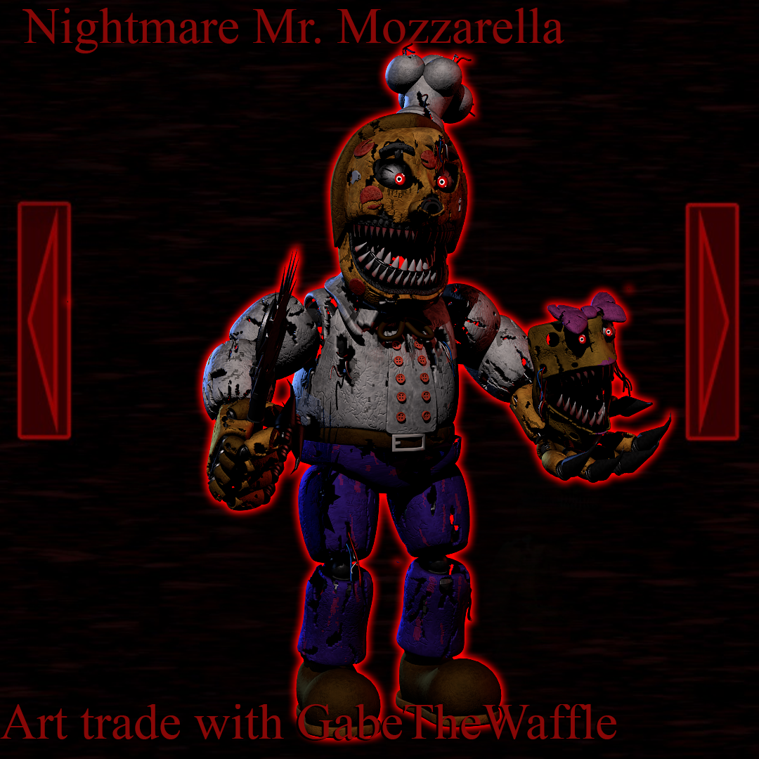 Nightmare Mr Mozzarella Art Trade By Theboofster On Deviantart Makes videos that usually consist of true horror stories with themes that viewers may find relatable in their everyday lives. nightmare mr mozzarella art trade by