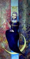 Tarot card - Priestess by neshad