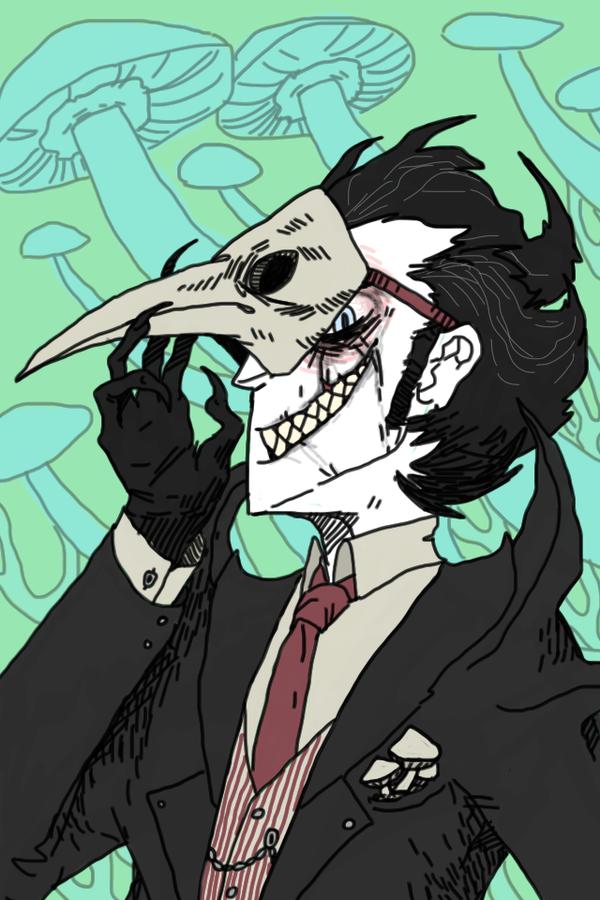 [Don't Starve] Cadaver by dragonunderthestairs
