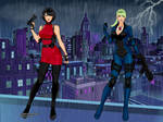 Resident Evil Ada Wong And Jill Valentine