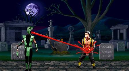Mortal Kombat Reptile by keithAnimatedx321