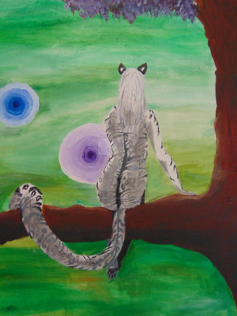 Inner cat by Ryokothedarksummoner