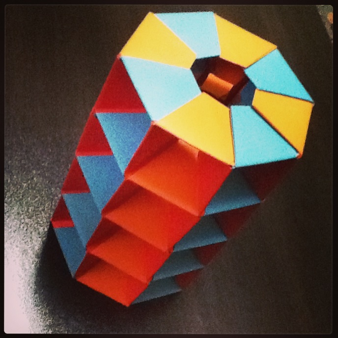 origami twisted tower by aisenuragba on deviantart