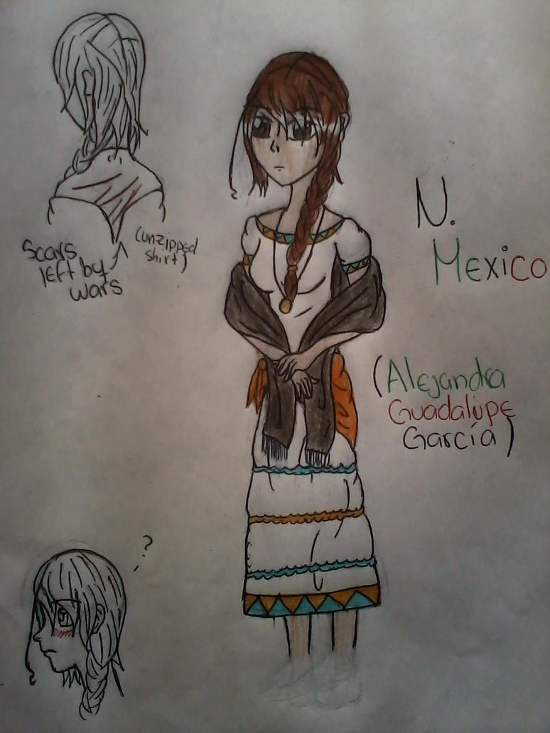 N. Mexico: Le Redesigne by hippie1998