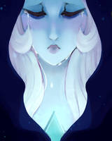 Blue Diamond by BrainlessBaguette