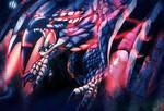 [FANART] Crimson Glow Valstrax-Monster Hunter Rise