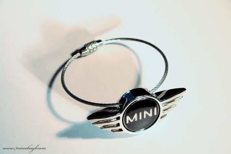 Mini Cooper Keychain