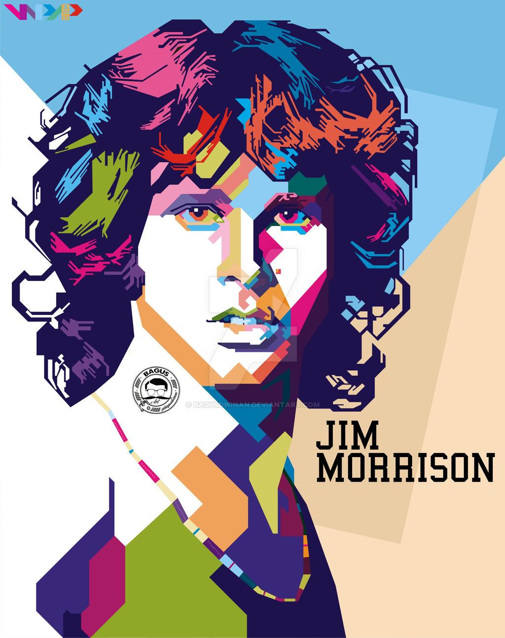 Jim Morrison By Bagusdwinan