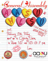 Valentines AASU + HLSU Flyer by kev2137