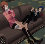 Persona 3 - A Slow Day at the Dorm