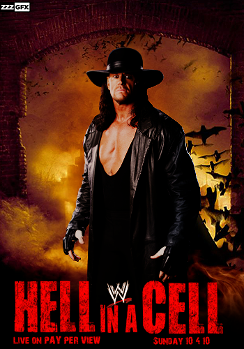 WWE Hell in a Cell Poster - V2 by EnigmaZzZ