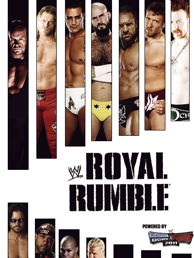 ROYAL RUMBLE - 2011 Poster by EnigmaZzZ