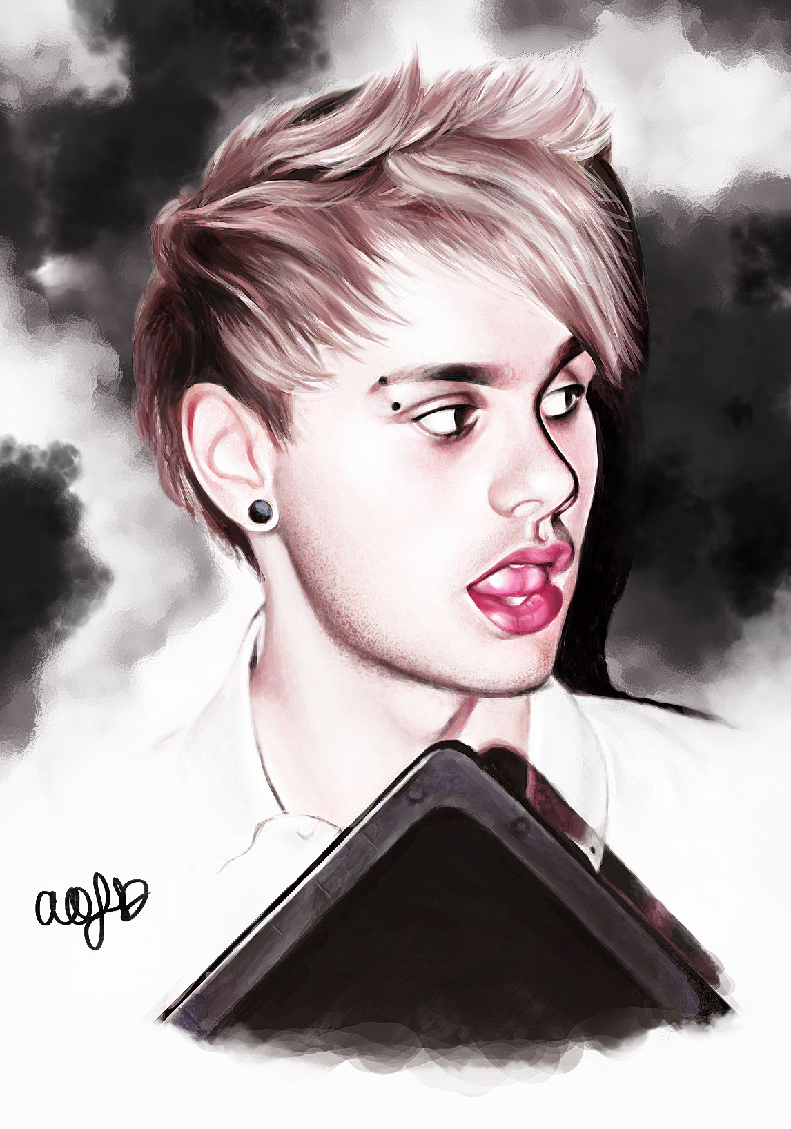 Michael Clifford By Abigaaail