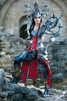 diablo 3 wizard cosplay by SakuraFlamme